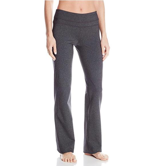 6181f9f7b51 Prana Tall Inseam Audrey Charcoal Gray Yoga Pants